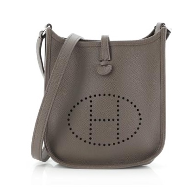 Hermès Long Strap Evelyne Bag Epsom TPM