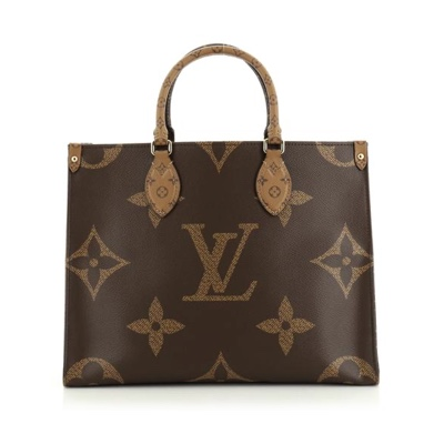 Louis Vuitton OnTheGo Tote Limited Edition Reverse Monogram Giant MM
